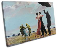 Crude Oil Banksy Painting - 13-1025(00B)-SG32-LO